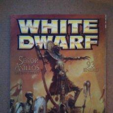 Juegos Antiguos: REVISTA WHITE DWARF 93 EN CASTELLANO. Lote 111037719