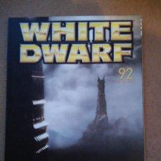 Jogos Antigos: REVISTA WHITE DWARF 92 EN CASTELLANO. Lote 111037791