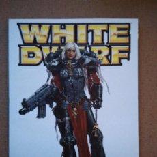 Juegos Antiguos: REVISTA WHITE DWARF 109 EN CASTELLANO. Lote 111037895