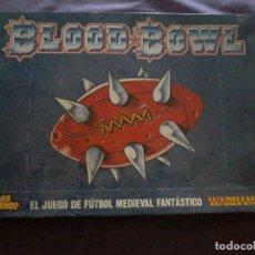 Juegos Antiguos: BLOOD BOWL - GAMES WORKSHOP -- WARHAMMER - FUTBOL MEDIEVAL FANTÁSTICO COMPLETO ESPAÑA . Lote 111631711