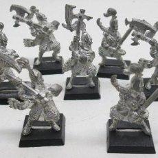 Juegos Antiguos: WARHAMMER FIGURAS METAL, ALTOS ELFOS, HIGH ELF WHITE LIONS. Lote 112277863