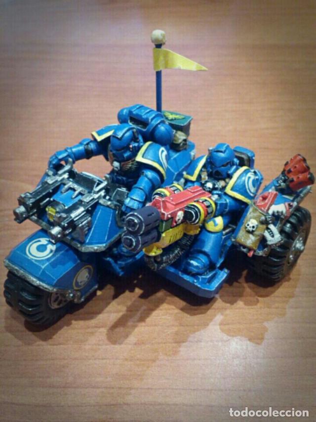 Warhammer 40K - Moto Marines Espaciales, usado segunda mano