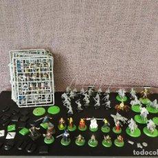 Juegos Antiguos: LOTE FIGURAS WARHAMMER EL SEÑOR DE LOS ANILLOS. Lote 114460771