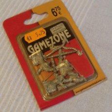 Juegos Antiguos: GAMEZONE - BLISTER 03-33 ELFOS ARQUEROS 1 JOVEN GUARDIA - NUEVO A ESTRENAR. Lote 114478063