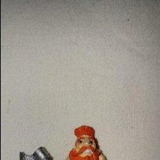 Juegos Antiguos: FIGURA PLOMO ENANO MATATROLL WARHAMMER GAMES WORSHOP DE PLOMO AÑOS 90 LOTE 4 . Lote 115161739