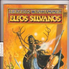 Jeux Anciens: EJERCITOS WARHAMMER ELFOS SILVANOS. Lote 116261483