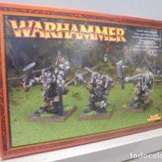 Juegos Antiguos: WARHAMMER GRUPO DE MANDO DE OGROS 81-13 - GAMES WORKSHOP OFERTA. Lote 121890651