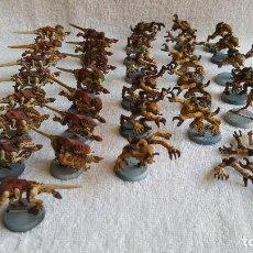 Juegos Antiguos: WARHAMMER LOTE DE MAS DE 30 FIGURAS CRIATURAS . Lote 121902307