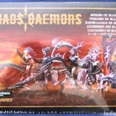 Juegos Antiguos: WARHAMMER 40000 CHAOS DAEMON RASTREAALMAS DE SLAANESH. Lote 125361560
