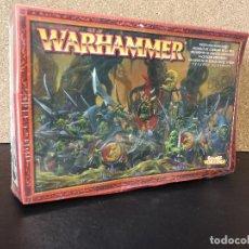 Juegos Antiguos: REGIMIENTO DE GOBLINS NOCTURNOS WARHAMMER . Lote 127161303