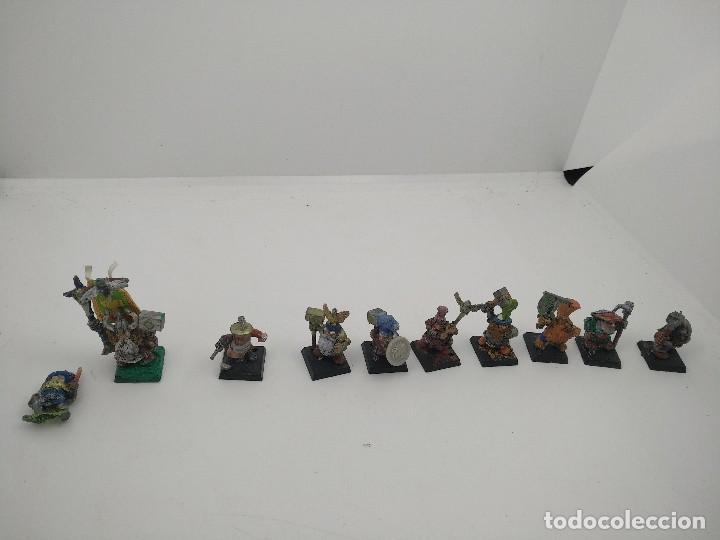 Juegos Antiguos: Lote Enanos Warhammer - Foto 3 - 127452703
