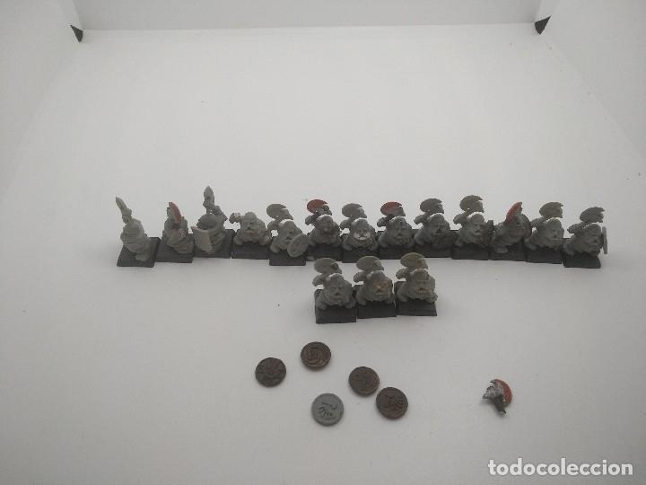 Juegos Antiguos: Lote Enanos Warhammer - Foto 5 - 127452703
