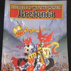 Juegos Antiguos: LIBRO EJERCITOS WARHAMMER BRETONIA GAMES WORKSHOP 1996. Lote 128863951