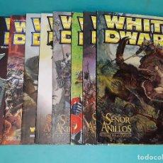 Juegos Antiguos: REVISTA WHITE DWARF. REVISTA TROLL. LOTE. Lote 129086635