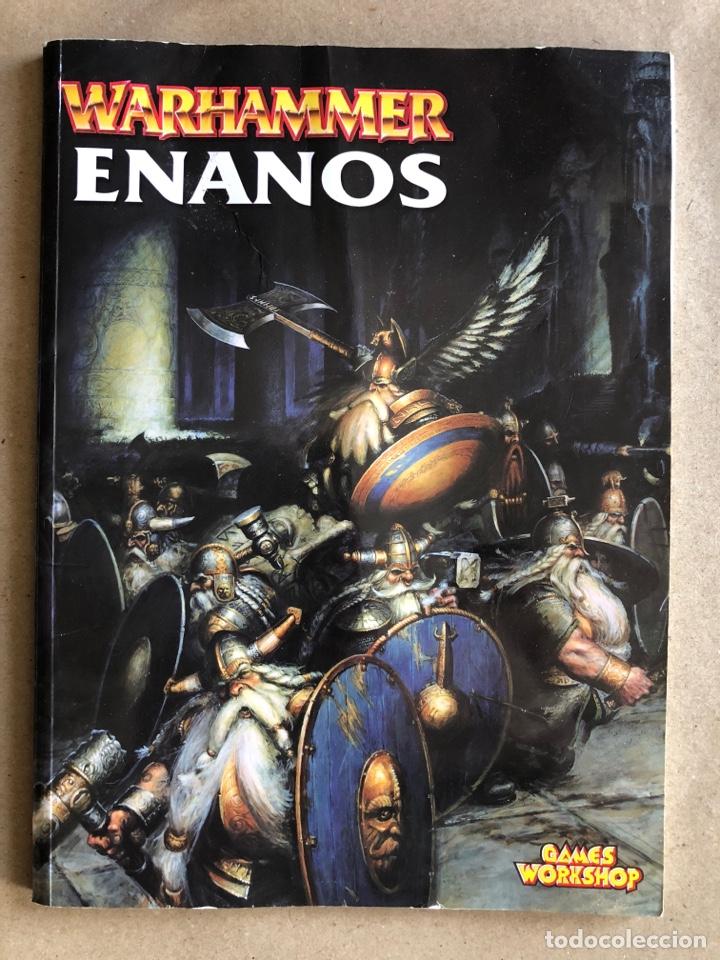 WARHAMMER - ENANOS - GAMES WORKSHOP (2000). EJÉRCITOS WARHAMMER. (Juguetes - Rol y Estrategia - Warhammer)