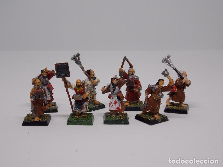Juegos Antiguos: LOTE WARHAMMER FANTASY: 139 FIGURAS, 2 LIBROS Y MALETIN - Foto 3 - 130620510