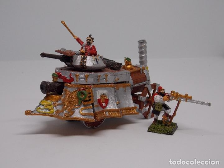 Juegos Antiguos: LOTE WARHAMMER FANTASY: 139 FIGURAS, 2 LIBROS Y MALETIN - Foto 5 - 130620510