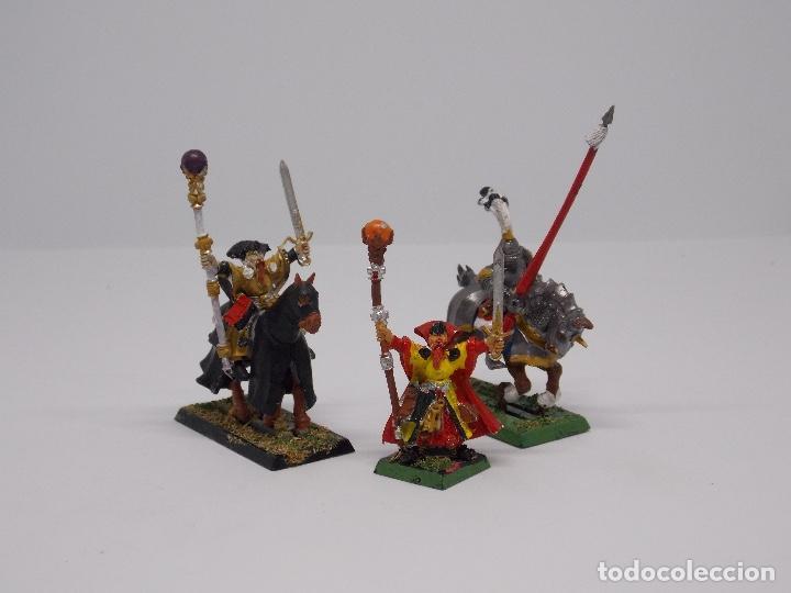 Juegos Antiguos: LOTE WARHAMMER FANTASY: 139 FIGURAS, 2 LIBROS Y MALETIN - Foto 6 - 130620510