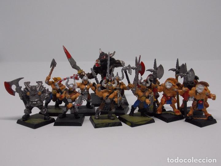 Juegos Antiguos: LOTE WARHAMMER FANTASY: 139 FIGURAS, 2 LIBROS Y MALETIN - Foto 11 - 130620510