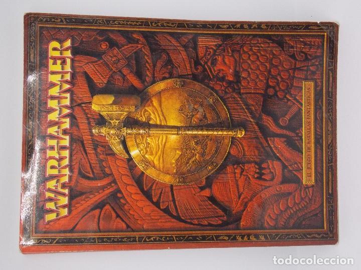 Juegos Antiguos: LOTE WARHAMMER FANTASY: 139 FIGURAS, 2 LIBROS Y MALETIN - Foto 13 - 130620510