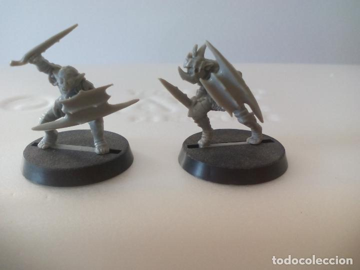 LOTE DE 2 GUERREROS SOLDADOS TROLL O ORCO SALVAJE EL SEÑOR DE LOS ANILLOS WARHAMMER LORD OF THE RING (Juguetes - Rol y Estrategia - Warhammer)