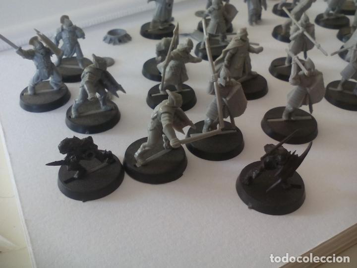 Juegos Antiguos: LOTE DE 32 GUERREROS SOLDADOS troll o ORCO SALVAJE EL SEÑOR DE LOS ANILLOS WARHAMMER LORD THE RING - Foto 5 - 131114872