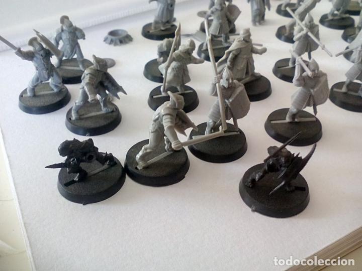 Juegos Antiguos: LOTE DE 32 GUERREROS SOLDADOS troll o ORCO SALVAJE EL SEÑOR DE LOS ANILLOS WARHAMMER LORD THE RING - Foto 6 - 131114872