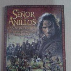 Juegos Antiguos: WARHAMMER EL SEÑOR DE LOS ANILLOS. REGLAMENTO LAS DOS TORRES. Lote 131120720