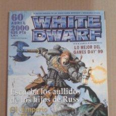 Jogos Antigos: WHITE DWARF NUMERO 60. Lote 131120808