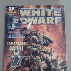 Juegos Antiguos: WHITE DWARF NUMERO 39 GAMES WORKSHOP WARHAMMER. Lote 131120860