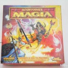Juegos Antiguos: JUEGO WARHAMMER / SUPLEMENTO MAGIA - REF. 3111 - GAMES WORKSHOP - AÑO 1997. Lote 131967462