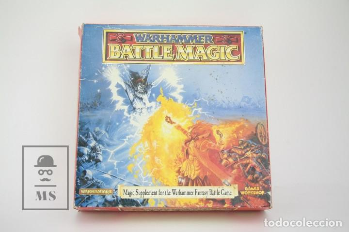Juego En Ingles Warhammer / Battle Magic - Ref. 0118 - Games Workshop - Año 1992 - Made In England, usado segunda mano