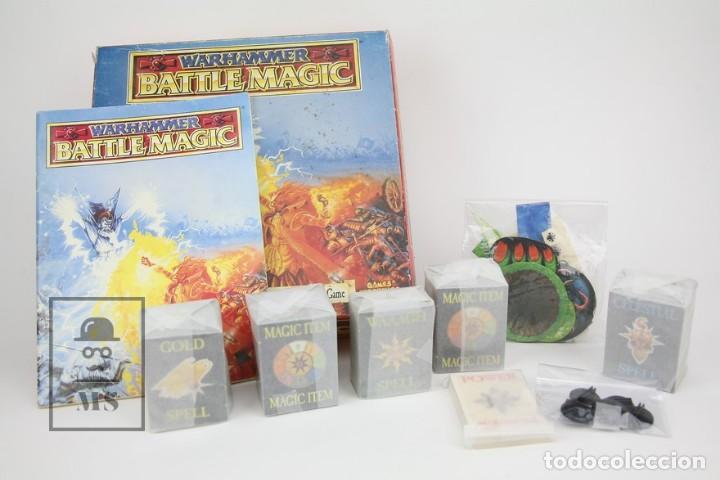 Juegos Antiguos: Juego En Ingles Warhammer / Battle Magic - Ref. 0118 - Games Workshop - Año 1992 - Made In England - Foto 2 - 134752839