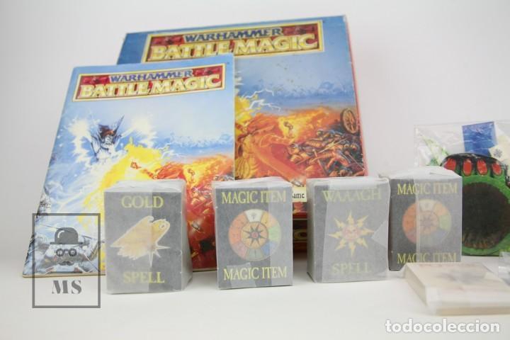 Juegos Antiguos: Juego En Ingles Warhammer / Battle Magic - Ref. 0118 - Games Workshop - Año 1992 - Made In England - Foto 3 - 134752839