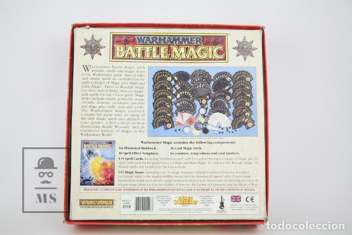 Juegos Antiguos: Juego En Ingles Warhammer / Battle Magic - Ref. 0118 - Games Workshop - Año 1992 - Made In England - Foto 5 - 134752839