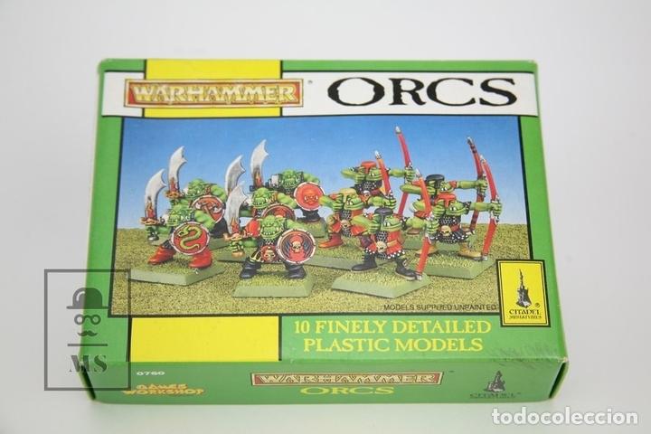 Caja vacía - Warhammer Orcs - Ref. 0760 - Citadel Miniatures - Games Workshop - Año 1993 segunda mano