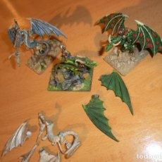 Juegos Antiguos: DRAGONES 15MM, FANTASIA POR 4. Lote 132440370