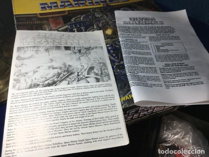 Juegos Antiguos: JUEGO DE MESA ULTRAMARINES - GAMES WORKSHOP - WARHAMMER - Foto 3 - 132785994