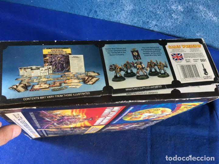 Juegos Antiguos: JUEGO DE MESA ULTRAMARINES - GAMES WORKSHOP - WARHAMMER - Foto 5 - 132785994