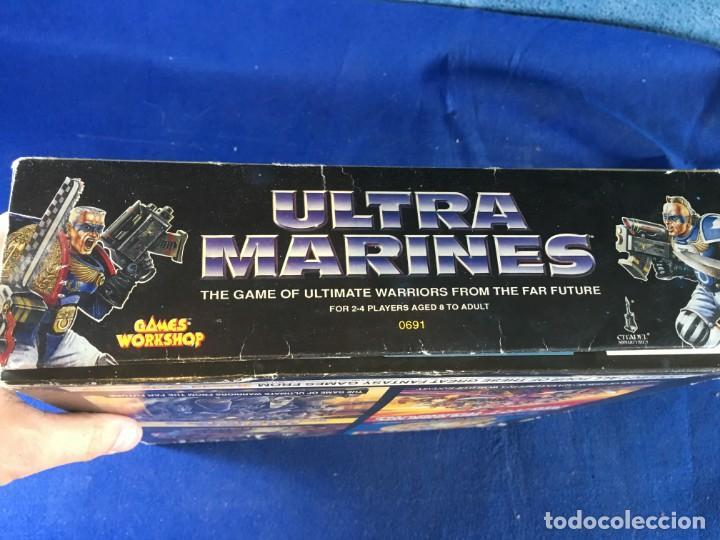 Juegos Antiguos: JUEGO DE MESA ULTRAMARINES - GAMES WORKSHOP - WARHAMMER - Foto 6 - 132785994