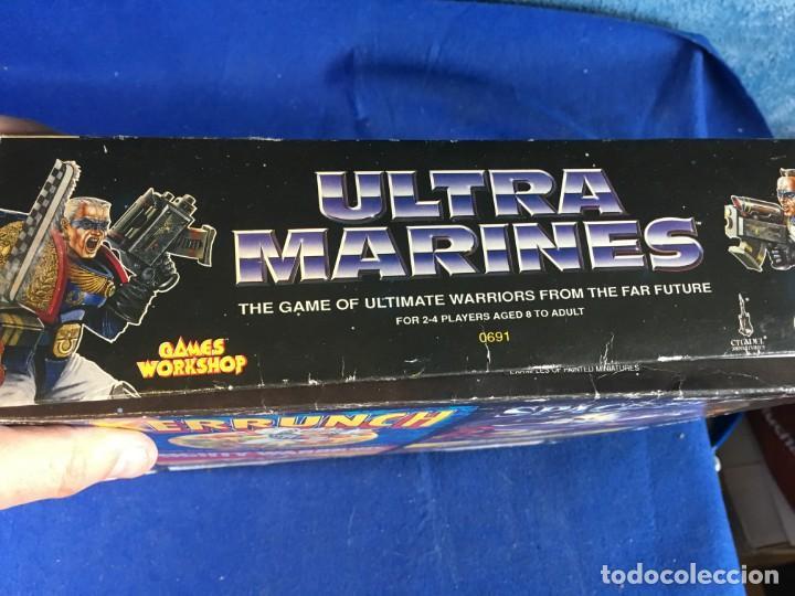 Juegos Antiguos: JUEGO DE MESA ULTRAMARINES - GAMES WORKSHOP - WARHAMMER - Foto 8 - 132785994
