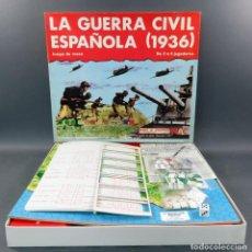 Juegos Antiguos: LA GUERRA CIVIL ESPAÑOLA (1936) JUEGO DE MESA NAC AÑOS 80 INCOMPLETO FALTAN ALGUNAS FICHAS. Lote 162891826