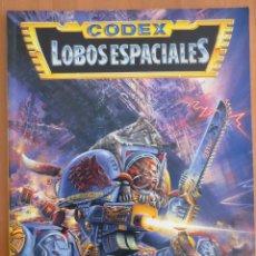 Juegos Antiguos: WARHAMMER 40000 CODEX LOBOS ESPACIALES. Lote 134031958