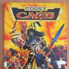 Juegos Antiguos: WARHAMMER 40000 CODEX CAOS. Lote 134033378