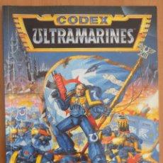 Juegos Antiguos: WARHAMMER 40000 CODEX ULTRAMARINES. Lote 134034146