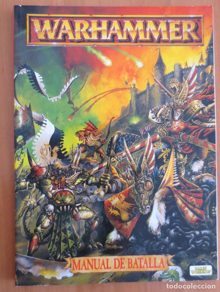 WARHAMMER MANUAL DE BATALLA (Juguetes - Rol y Estrategia - Warhammer)
