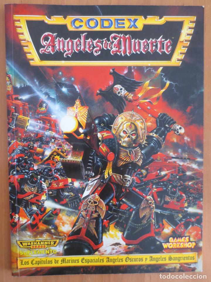 WARHAMMER 40000 CODEX ANGELES DE MUERTE segunda mano