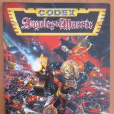 Juegos Antiguos: WARHAMMER 40000 CODEX ANGELES DE MUERTE. Lote 134035606