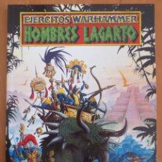 Juegos Antiguos: EJERCITOS WARHAMMER HOMBRES LAGARTO. Lote 157347784