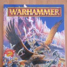 Juegos Antiguos: WARHAMMER REGLAMENTO. Lote 134038322